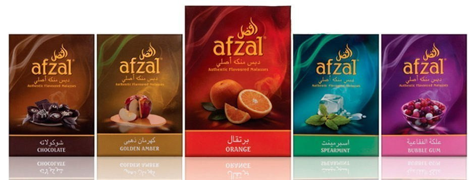 afzal orange spearmint bubble gum