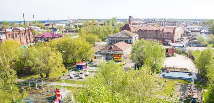 парк каменское