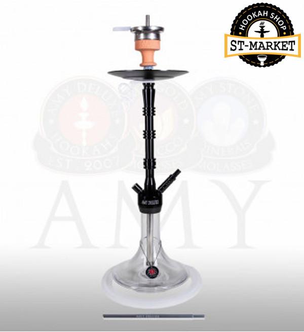 Кальян Amy Deluxe 069.01 Alu Lima Black