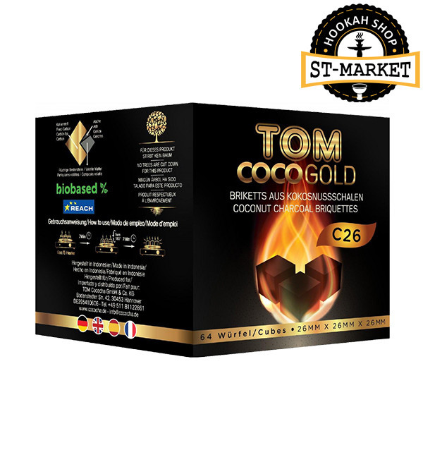 Уголь для кальяна Tom Cococha C 26