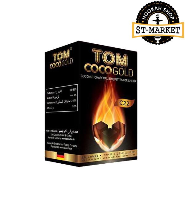 Уголь для кальяна Tom Cococha C 22