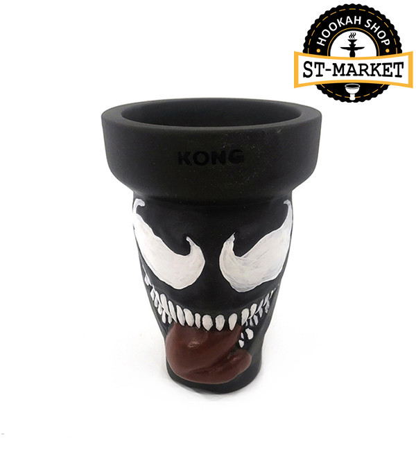 Чаша для кальяна Kong VENOM EDITION + GLASE